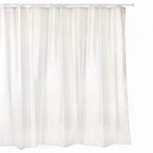 Duschvorhang Mit Bleiband : textil duschvorhang wei 220x200 cm vorhang dusche waschbar ringe bleiband ebay ~ Sanjose-hotels-ca.com Haus und Dekorationen