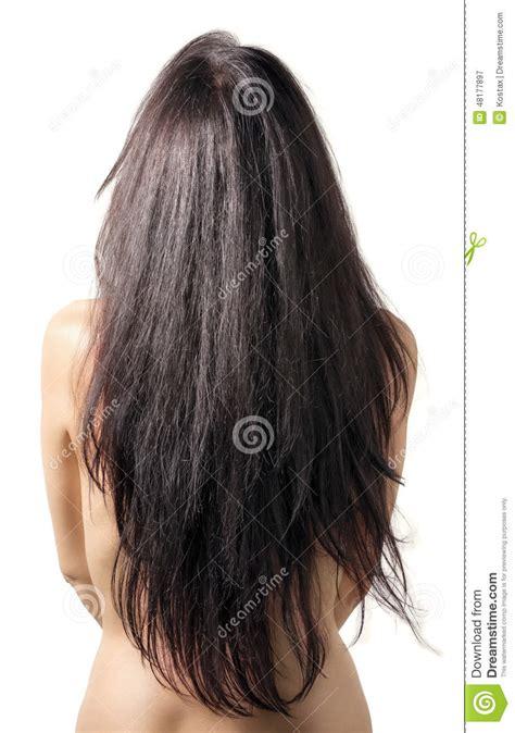 Back Model Stock Image Image Of Beauty Brunette Brazilian