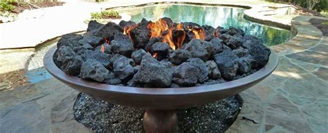 gas pit rocks fireplace how can i get my gas pit to a larger 3737