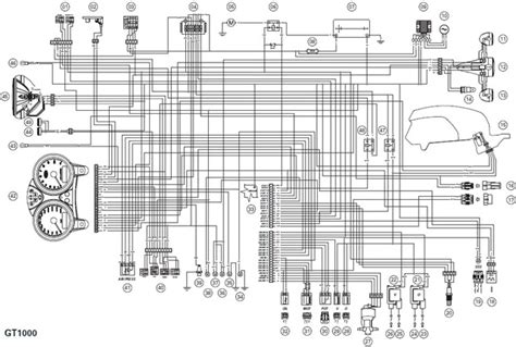 Ducati Electrical System Wiring Diagram