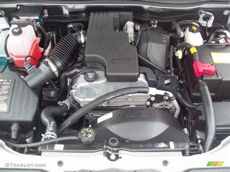 chevrolet colorado lt extended cab  liter dohc  valve vortec  cylinder engine photo