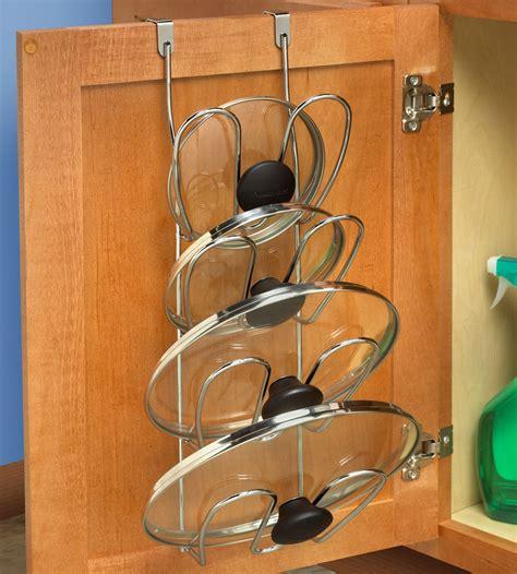 kitchen cabinet door organizer cabinet door pot lid organizer in pot lid racks 5296