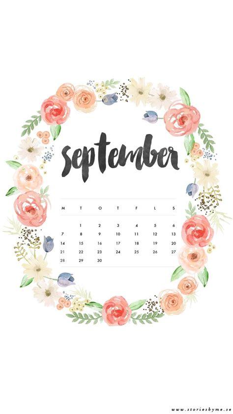 iphone wallpaper september calendar iphone bakgrunder