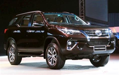 Toyota Fortuner 2019 by 2019 Toyota Fortuner Redesign Review And Price Toyota