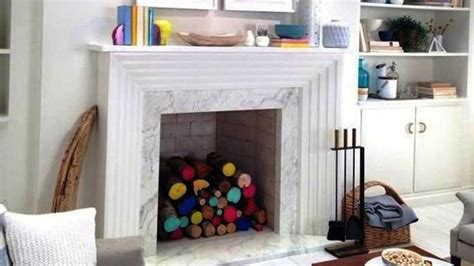 Cool Ideas For Your Non-working Fireplace