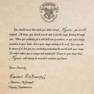 most wonderful rejection letter from hogwarts harry With how do you get a letter from hogwarts