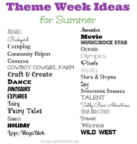 frugal summer ideas summer theme week ideas great 367   72e38f3876f627ceb478e9e3551dbc34 summer weekly themes preschool camp week themes
