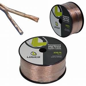 Car Home Audio Speaker Wire 12 Gauge 250 Ft Audio Speaker