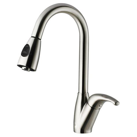kitchen faucet pull out spray vigo single handle pull out sprayer kitchen faucet in