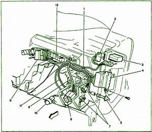1998 Gmc Sonoma Under Dash Fuse Box Diagram