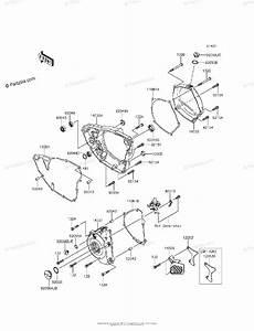 Kawasaki Motorcycle 2015 Oem Parts Diagram For Engine