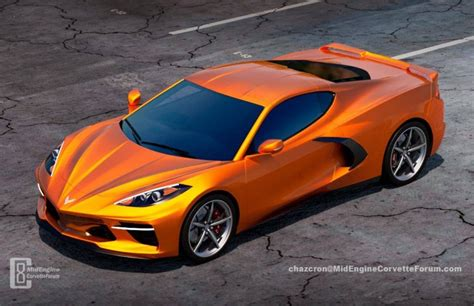 This Is The Best 2020 Chevy Corvette C8 Rendering Yet