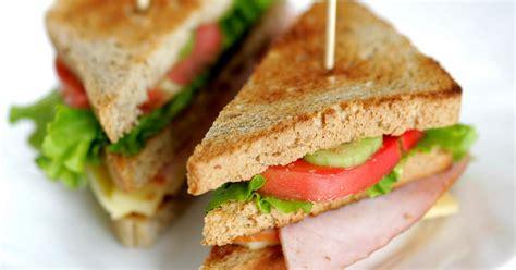 recette club sandwich au poulet