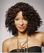 Medium Length Black Cu...Medium Length Black Curly Haircuts