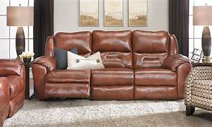 rutherford power reclining leather sofa haynes furniture With sectional sofas haynes