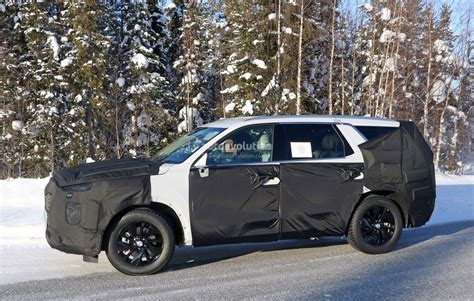 Hyundai Size Suv 2020 by 2020 Hyundai Eight Seat Large Suv Spied Benchmarking