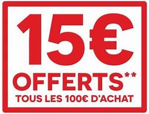 Promo Castorama 15 Par Tranche De 100 : bon plan darty 15 euros offerts par tranche de 100 euros d ~ Dailycaller-alerts.com Idées de Décoration