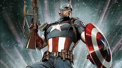 Comics Captain America Marvel Superheroes Characters Heroes