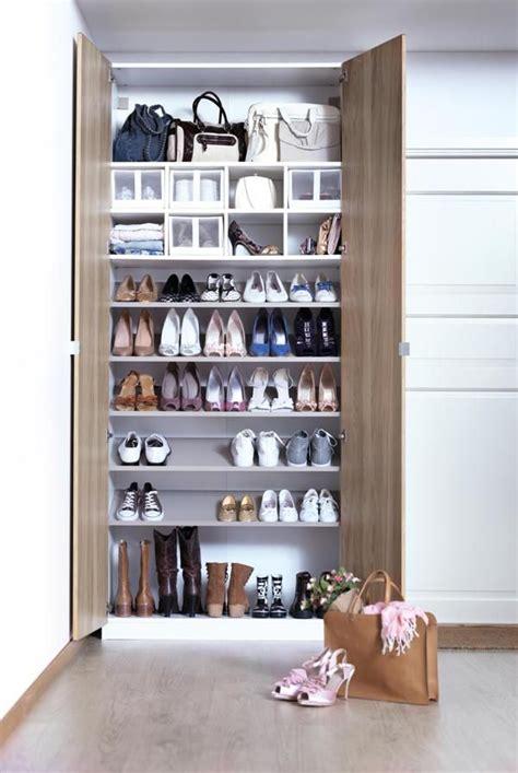scaffali per scarpe de diy y soluciones decorativas pr 225 cticas y bonitas