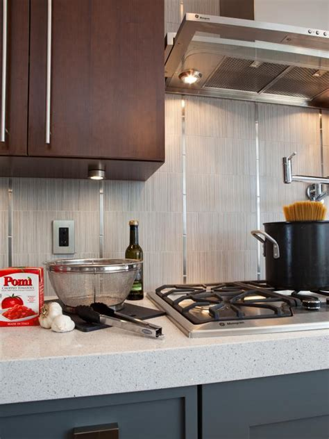 How Thick Is Quartz Countertop by Thick Quartz Countertops And Vertical Backsplash Hgtv