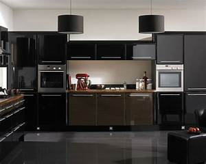 22, Bold, Black, Kitchen, Design, Inspirations