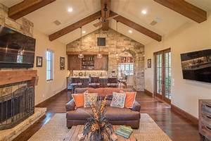 Rustic Western Living Room Interior Decor Style Custom