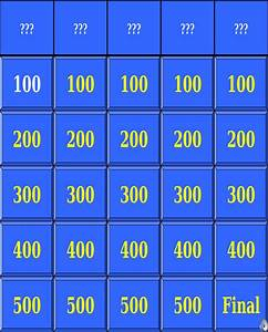 download jeopardy powerpoint template with sound for free With jeopardy template ppt with sound