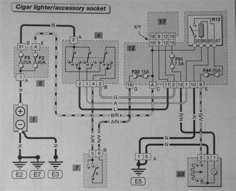 Renault Clio Towbar Wiring Diagram by Renault Clio Cigarette Lighter Wiring Diagram