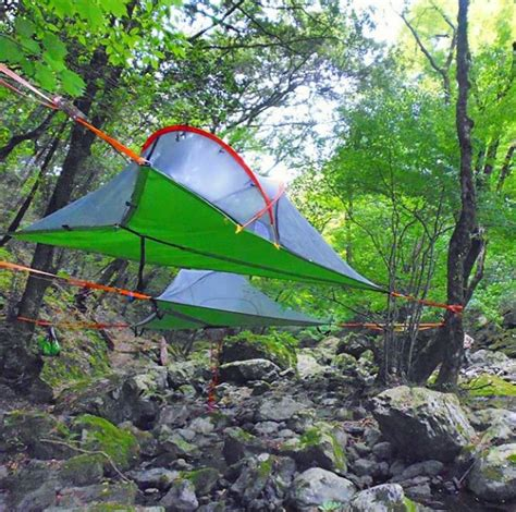hanging canopy tent tentsile stingray hanging tent review