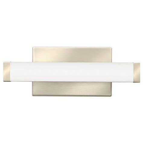 led vanity light lithonia lighting contemporary square brushed nickel 3k