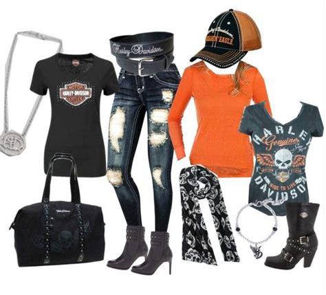 Harley Davidson Costume by Harley Davidson Polyvore Set4 Harley Davidson Addiction