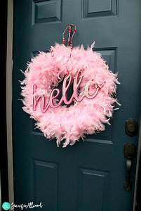 DIY Valentine Wreath to add Glamor to your Front Door ...