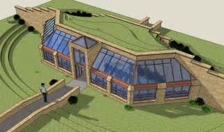 Earth Sheltered Greenhouse Design