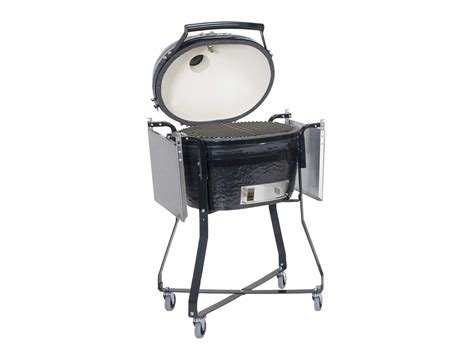 patio caddie grill cover primo oval 200 jr ceramic smoker grill in caddie with