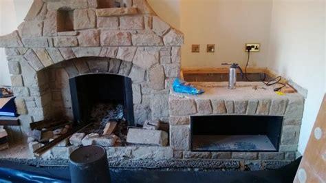 remove open fire  boiler  keeping fireplace