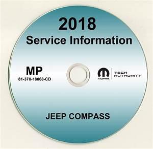 2018 Jeep Compass Shop Service Repair Manual Cd
