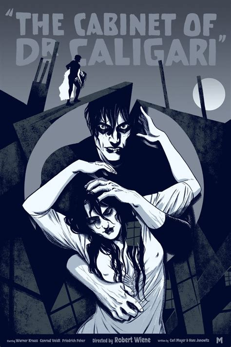 the cabinet of dr caligari by becky cloonan mondo