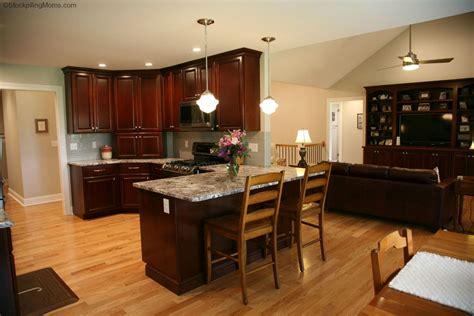 Kitchen Design Ideas Black Appliances by Kitchen Design Cherry Cabinets And Black Stainless