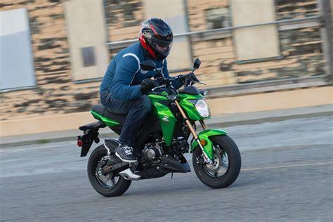 Review Kawasaki Z125 Pro by 2017 Kawasaki Z125 Pro Review 10 Fast Facts