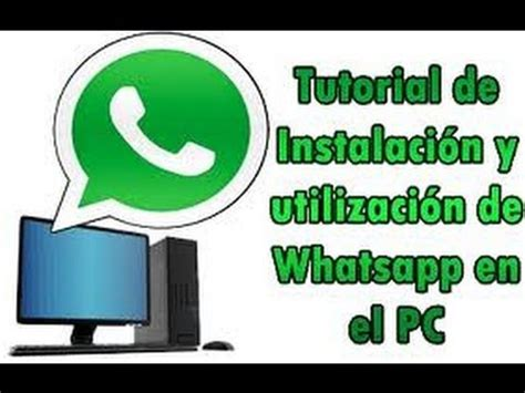 como descargar whatsapp para windows 7 100 seguro
