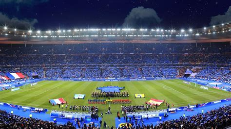 euro  le match douverture  la finale au stade de