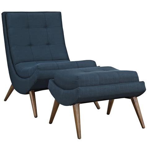 upholstered chair with ottoman r modern upholstered lounge chair and ottoman with wood