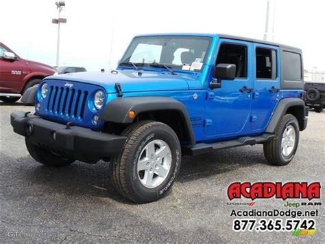 jeep wrangler sports 2016 2016 hydro blue pearl jeep wrangler unlimited sport 4x4