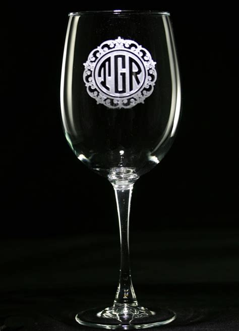 engraved barware 125 best images about personalized wine glasses engraved