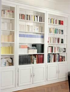 Meuble Bibliothque Sur Mesure L39Atelier Du Moulin De