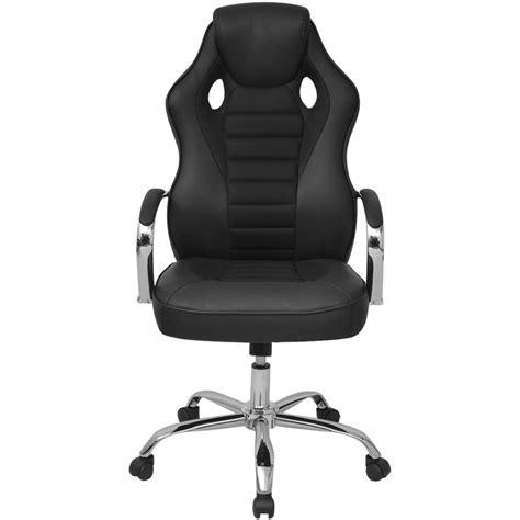 chaise de bureau en solde acheter vidaxl chaise de bureau en cuir artificiel noir