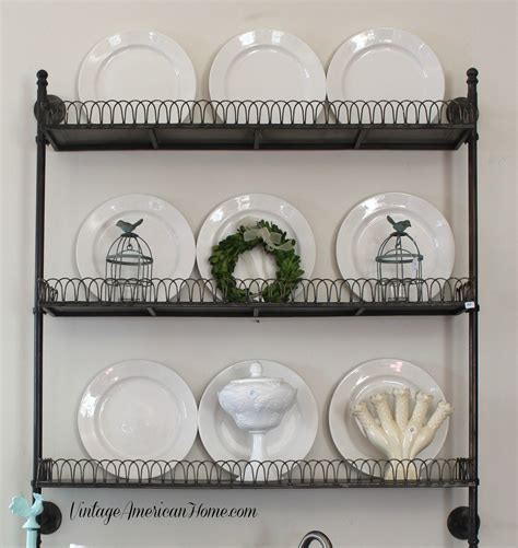 Iron Wall Shelf   Vintage American Home