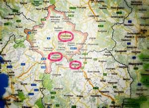Prizren Kosovo Map