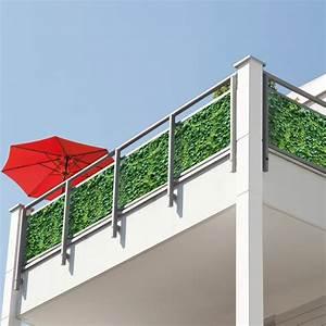 Sichtschutz Für Balkongeländer : balkon sichtschutz kunst efeu hecke 2193 ~ Markanthonyermac.com Haus und Dekorationen