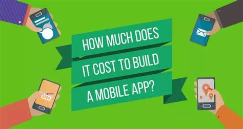 How Much Does It Cost To Build A Bar by How Much Does It Cost To Build A Mobile App Hacker Noon